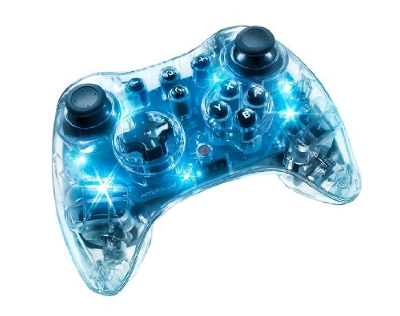 Afterglow Pro Controller For Wii U Blue