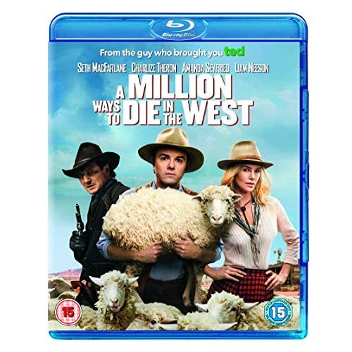 Image 0 of A Million Ways To Die In The West Blu-Ray Region Free On Blu-Ray With Liam Neeso