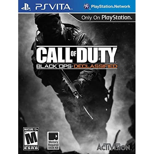 Call Of Duty: Black Ops Declassified COD PlayStation For Ps Vita