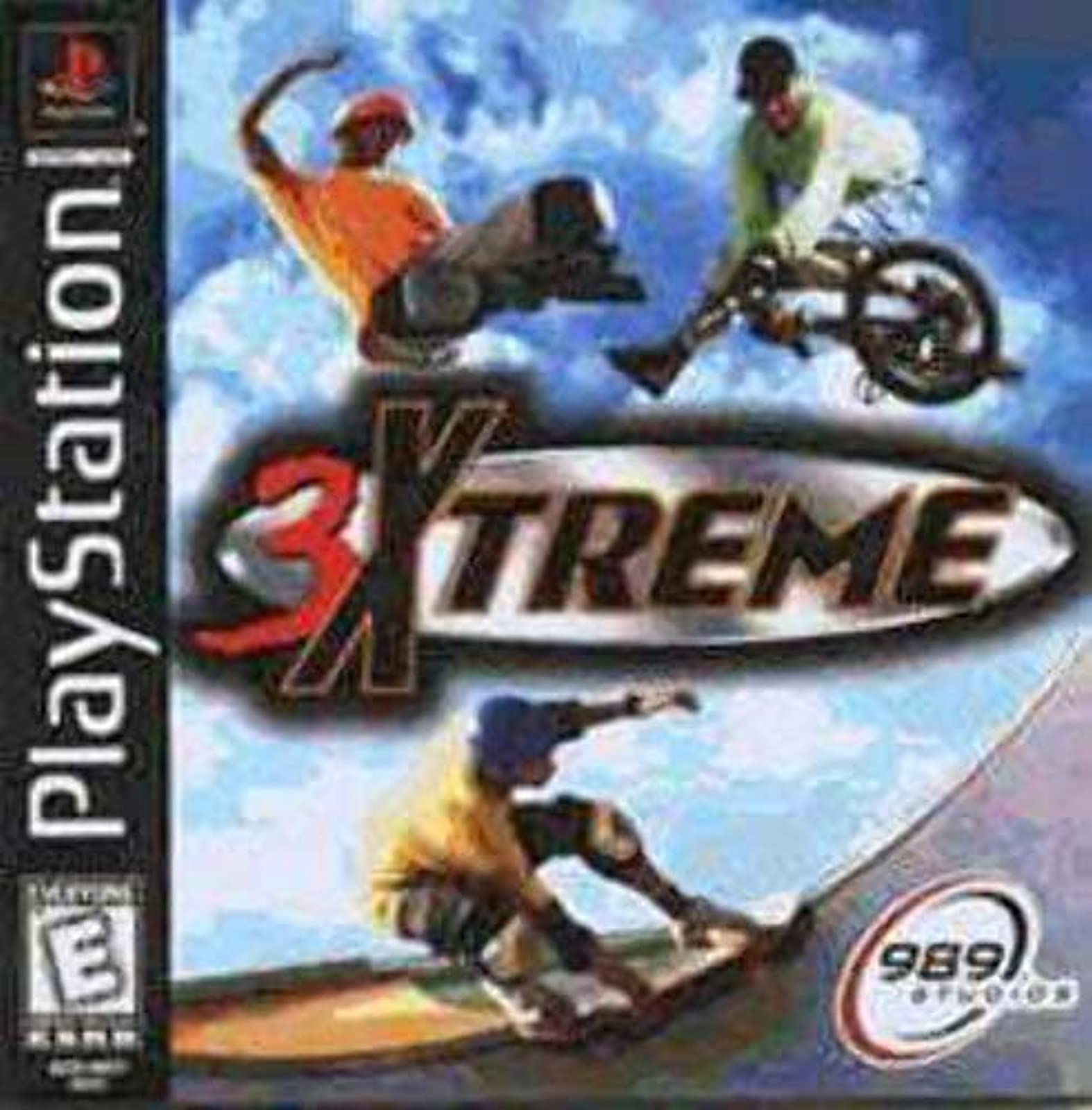 3 Xtreme For PlayStation 1 PS1
