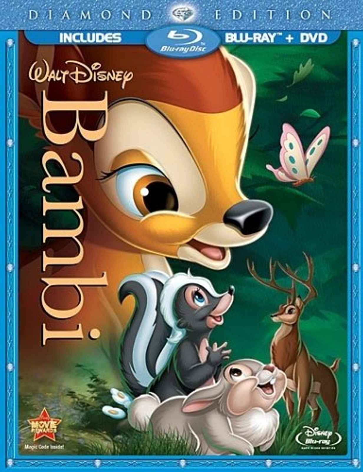 Bambi Two-Disc Diamond Edition Blu-Ray/dvd Combo In Blu-Ray Packaging With Hardy