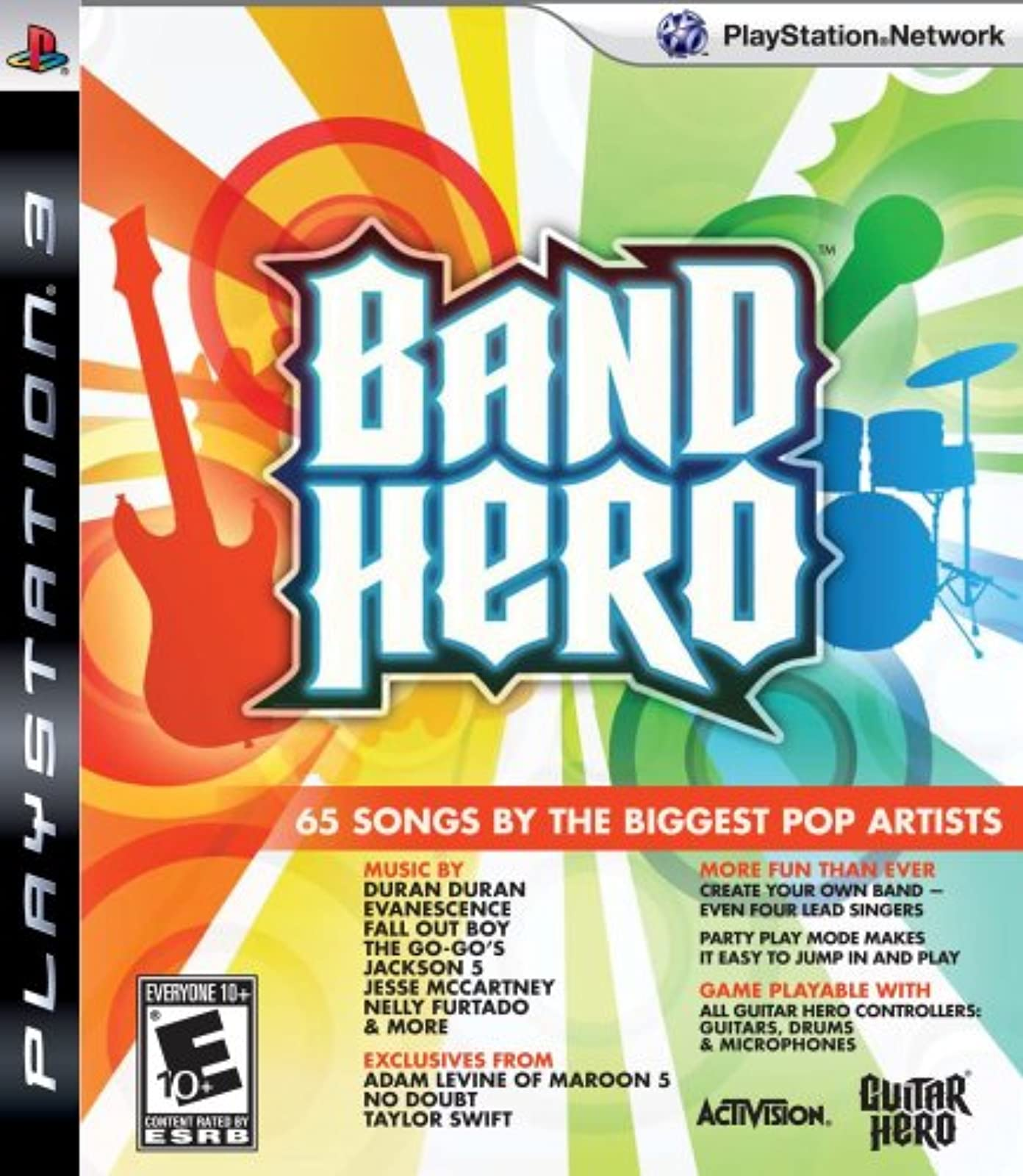 Band Hero Featuring Taylor Swift Stand Alone Software For PlayStation 3 PS3