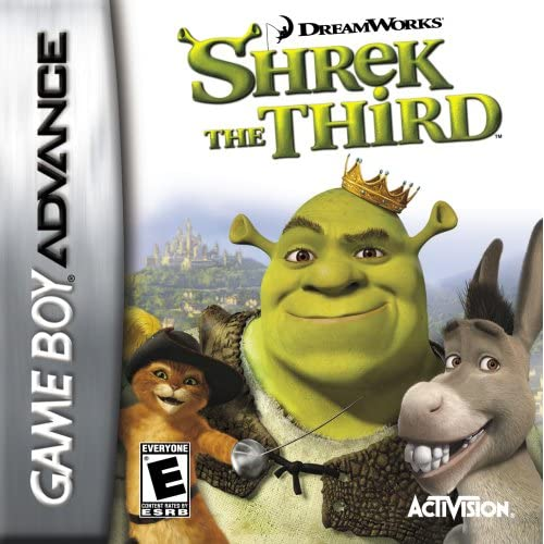 Shrek The Third For GBA Gameboy Advance