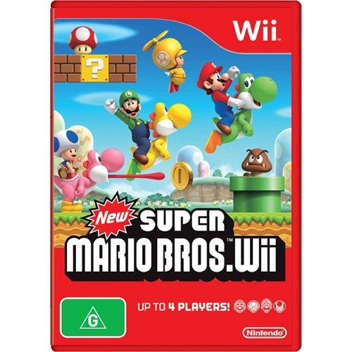 Image 0 of New Super Mario Brothers For Wii And Wii U