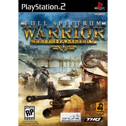 Full Spectrum Warrior Ten Hammers For PlayStation 2 PS2 10