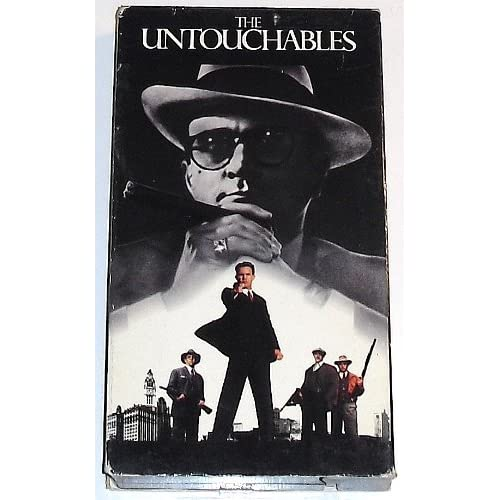 Image 0 of The Untouchables On VHS With Kevin Costner