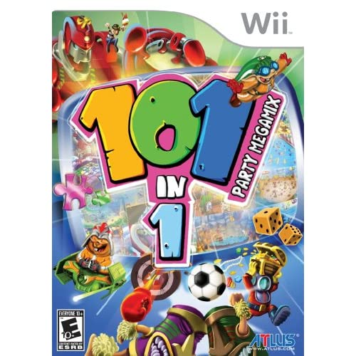 101-IN-1 Party Megamix For Wii Arcade
