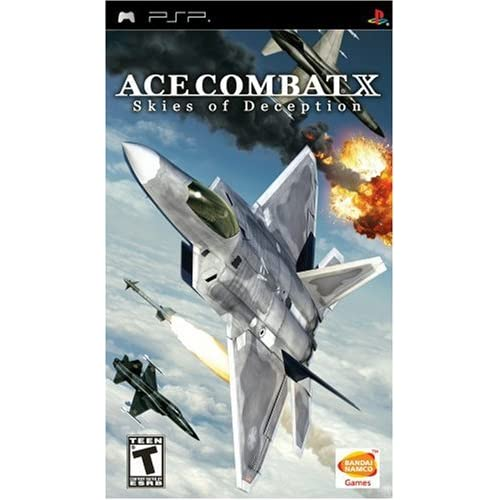 Ace Combat X: Skies Of Deception Sony For PSP UMD Shooter