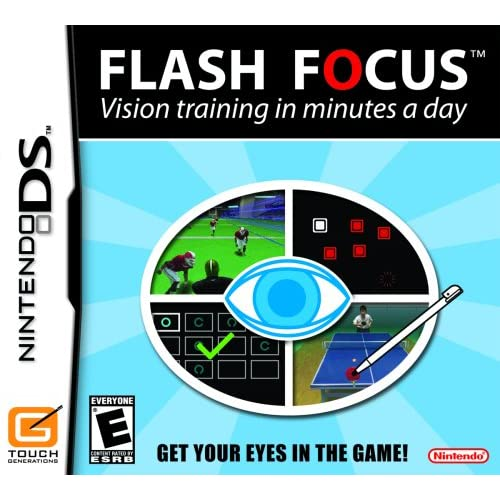 Flash Focus: Vision Training In Minutes A Day For Nintendo DS DSi 3DS