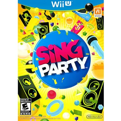 Sing Party For Wii U Game Only Music & Dance