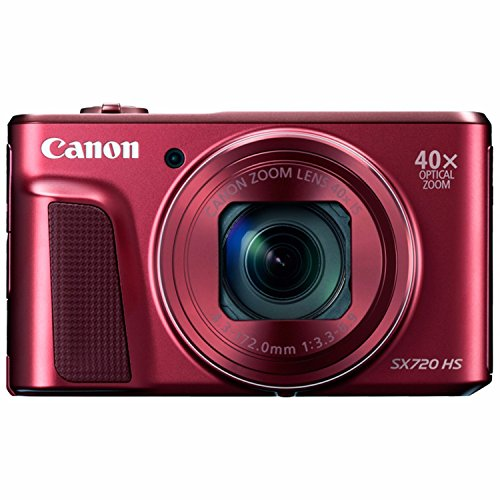 Canon Powershot SX720 Hs Digital Camera Red