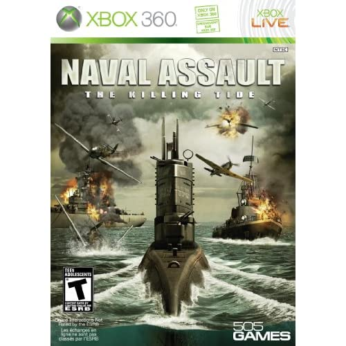Naval Assault: The Killing Tide For Xbox 360