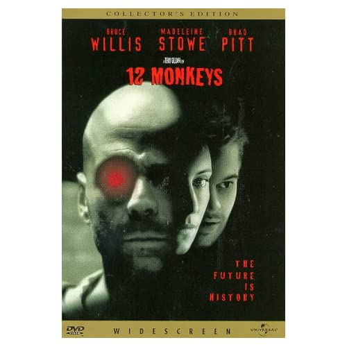 12 Monkeys Widescreen On DVD With Bruce Willis