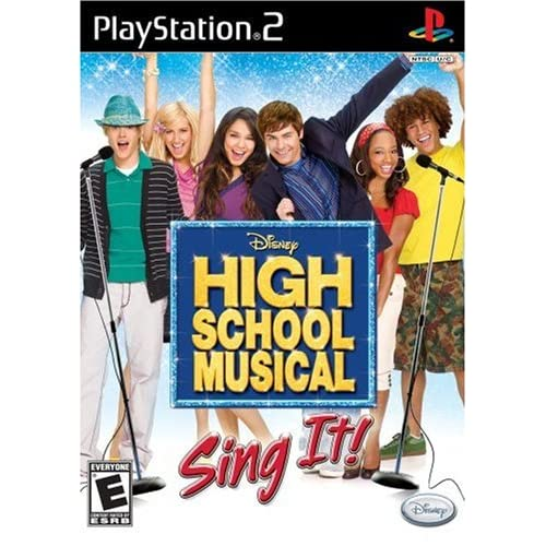 High School Musical: Sing It PS2 Disney Music For PlayStation 2
