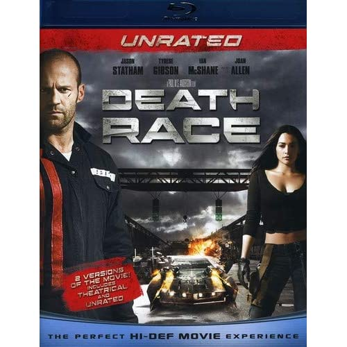 Death Race Unrated Blu-Ray On Blu-Ray With Jason Statham