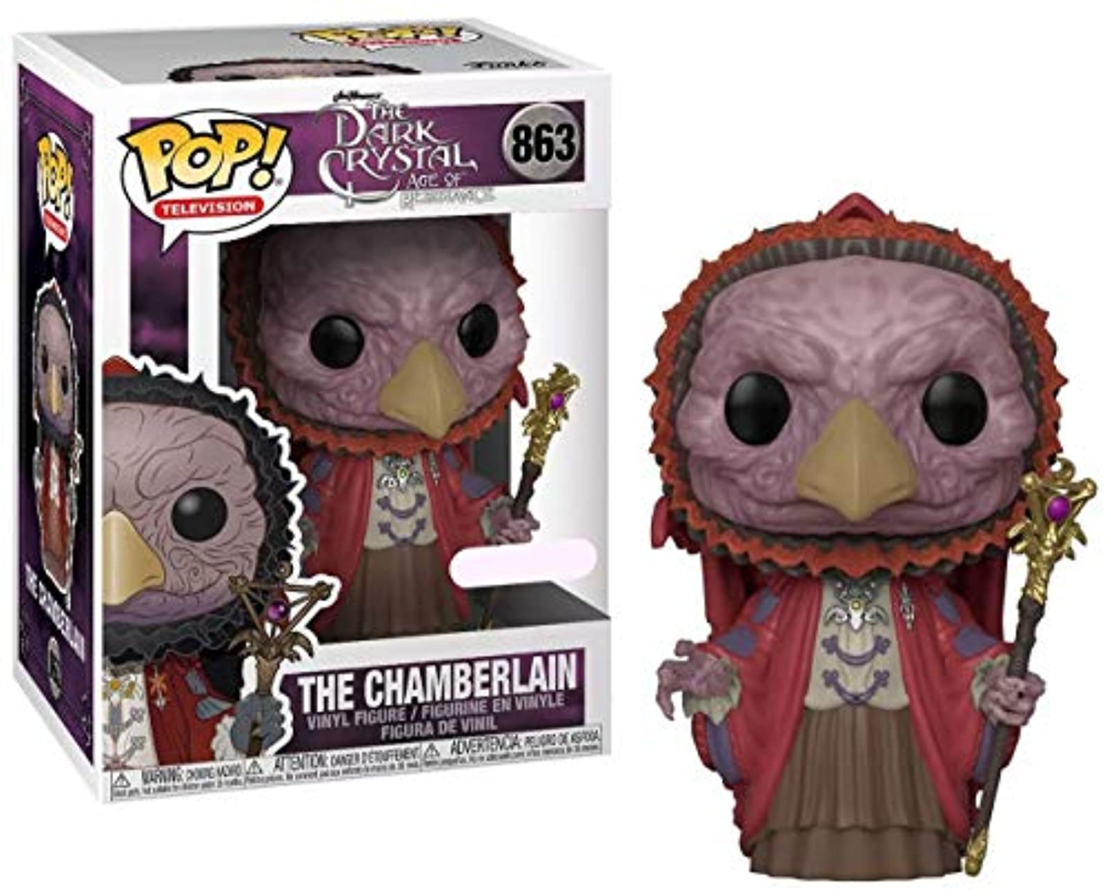 Funko Pop Dark Crystal Chamberlain Skeksis Exclusive Toy