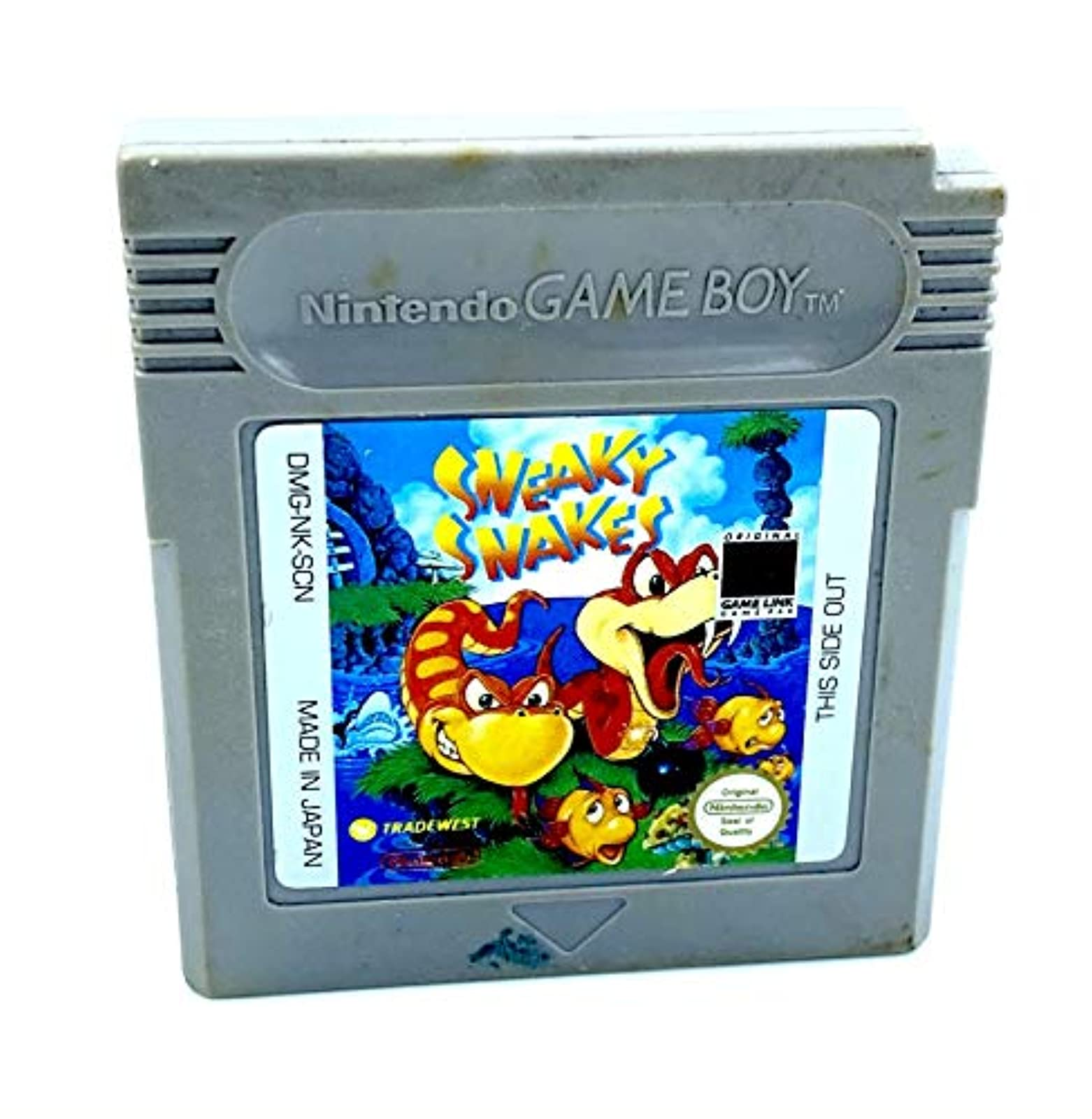 Sneaky Snakes On Gameboy