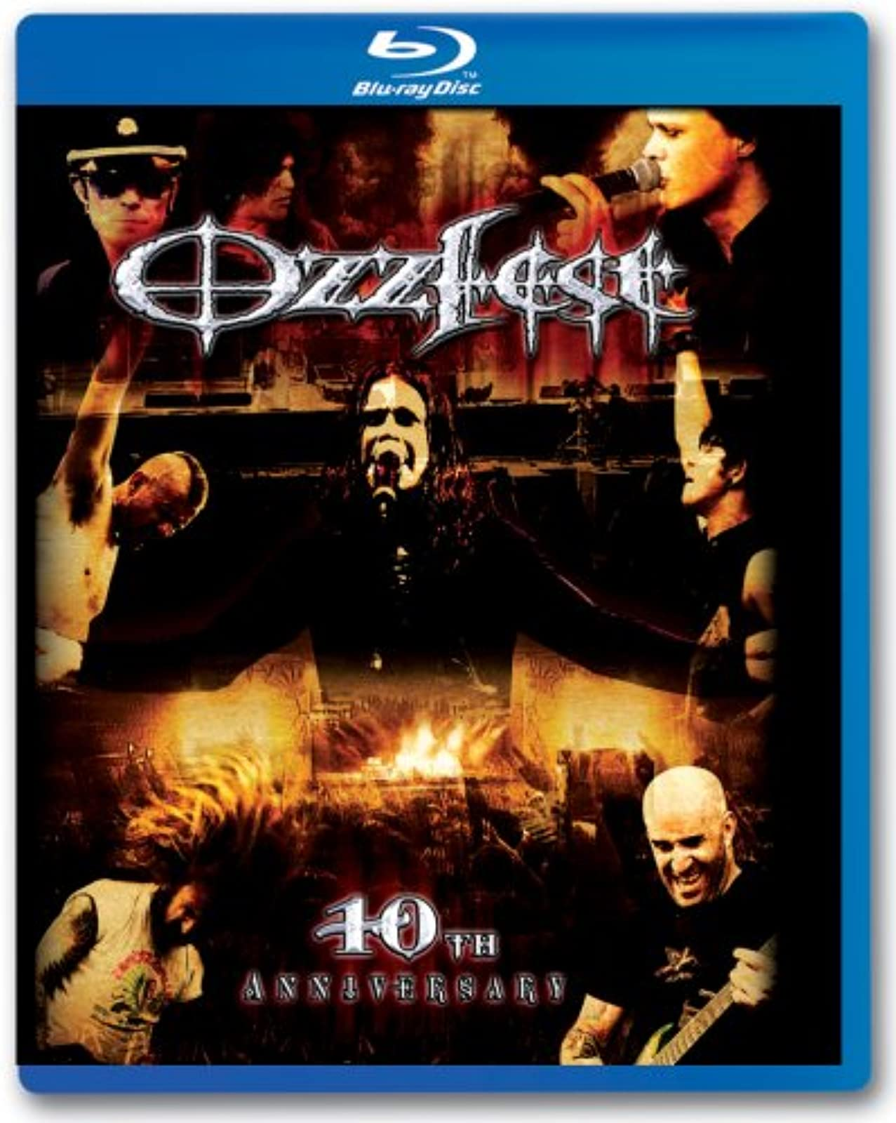 Ozzfest: 10th Anniversary Blu-Ray On Blu-Ray With Various Artists