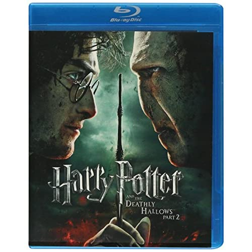 Harry Potter And The Deathly Hallows Part 2 Movie-Only Edition Blu-Ray