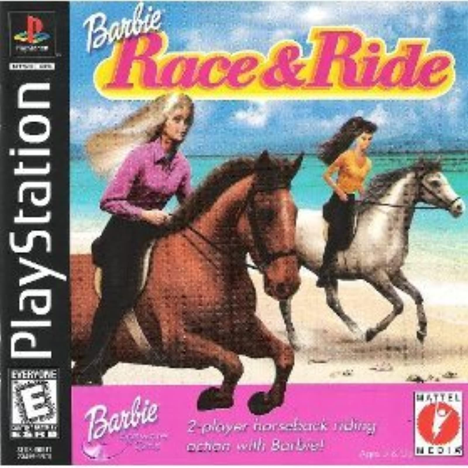 Barbie Race And Ride For PlayStation 1 PS1