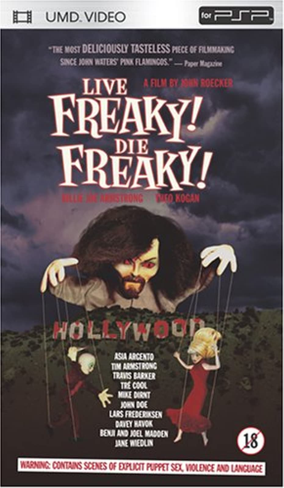 Live Freaky Die Freaky Edited For Content UMD For PSP