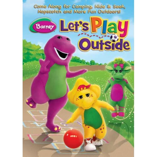 Barney: Let's Play Outside Software Comedy