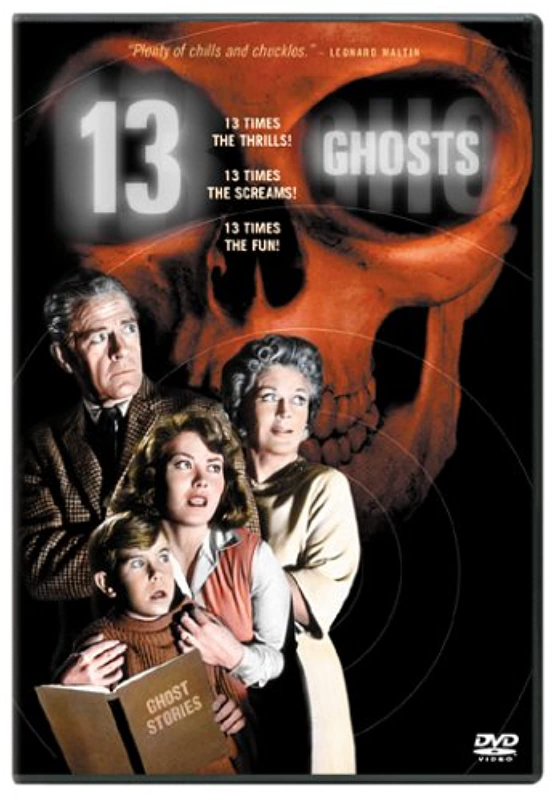 13 Ghosts On DVD With Charles Herbert Horror