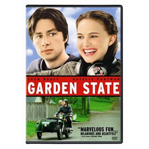 Image 0 of Garden State On DVD With Zach Braff Comedy