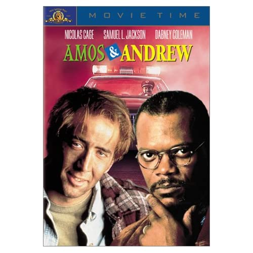 Amos And Andrew On DVD With Nicolas Cage Comedy