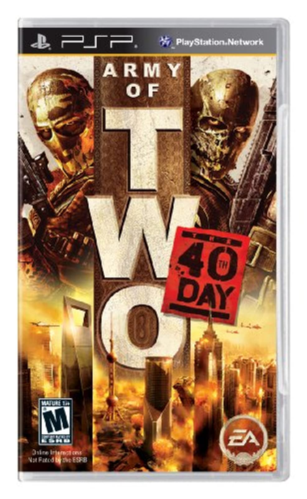Army Of Two: The 40th Day Sony For PSP UMD