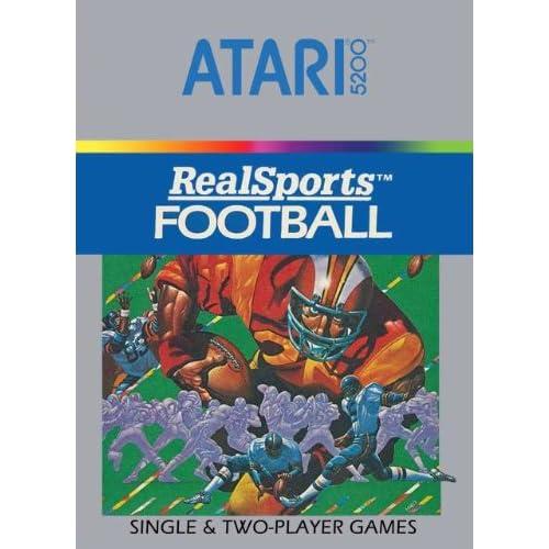 Football For Atari 5200 Vintage