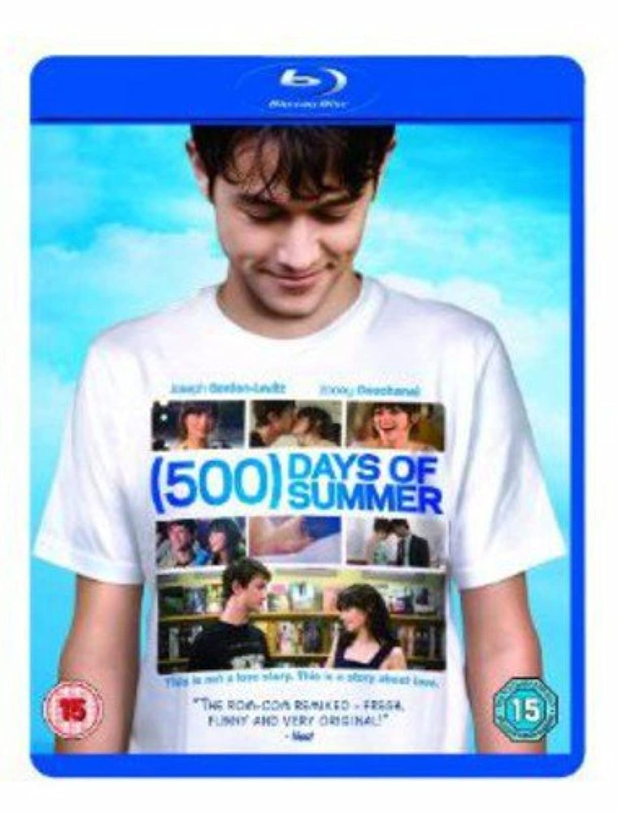 500 Days Of Summer Blu-Ray On Blu-Ray With Joseph Gordon-Levitt Music And Concer