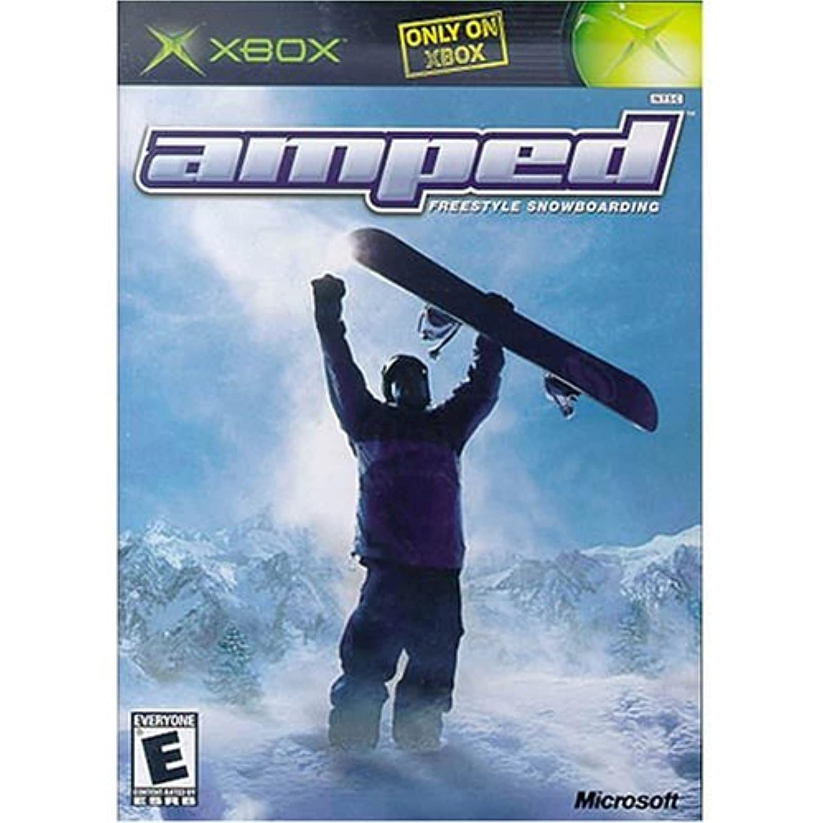 Amped: Freestyle Snowboarding For Xbox Original