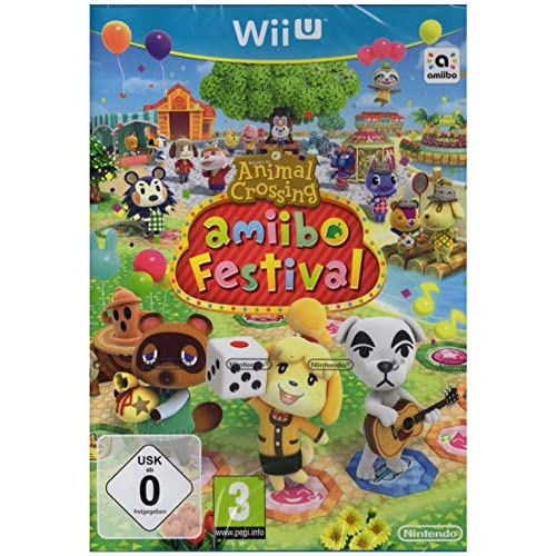 Animal Crossing Amiibo Festival For Nintendo Wii U