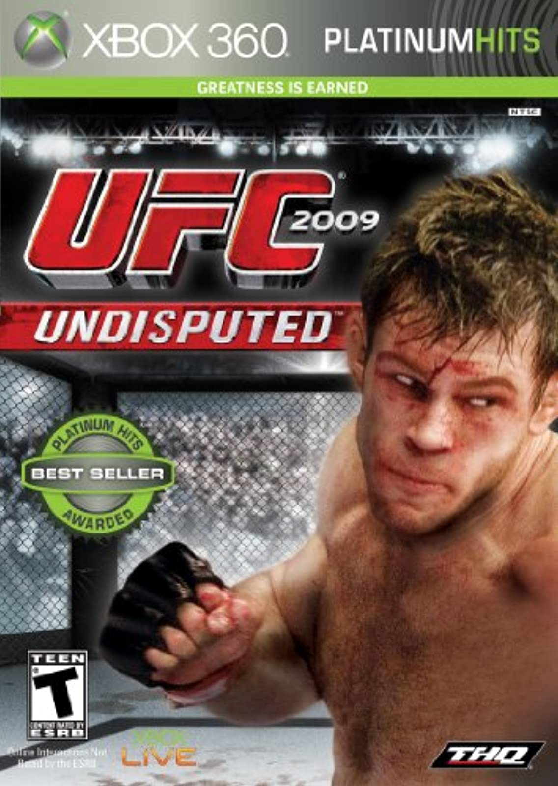 UFC Undisputed 2009 For Xbox 360 Wrestling