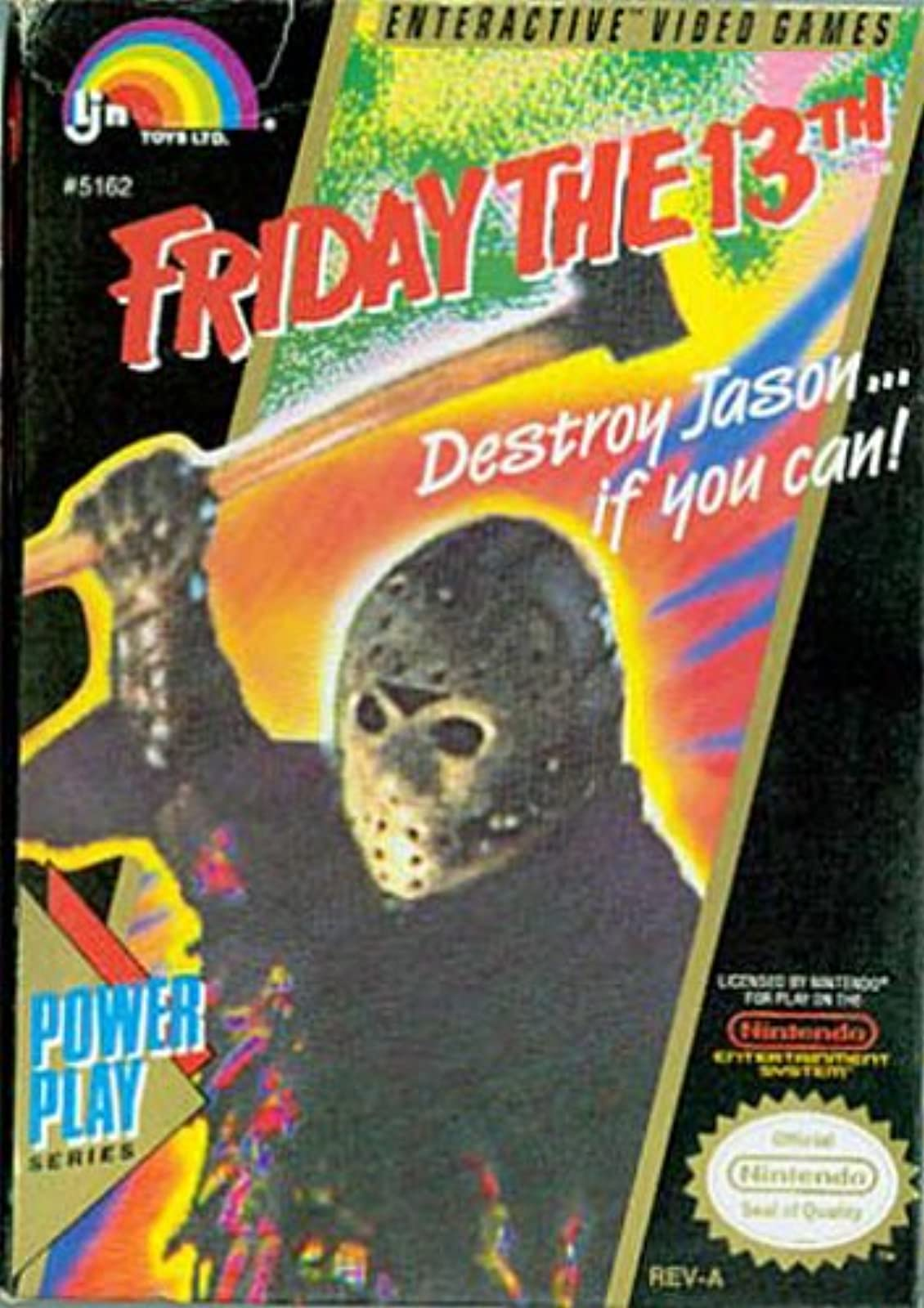 Friday The 13th For Nintendo NES Vintage