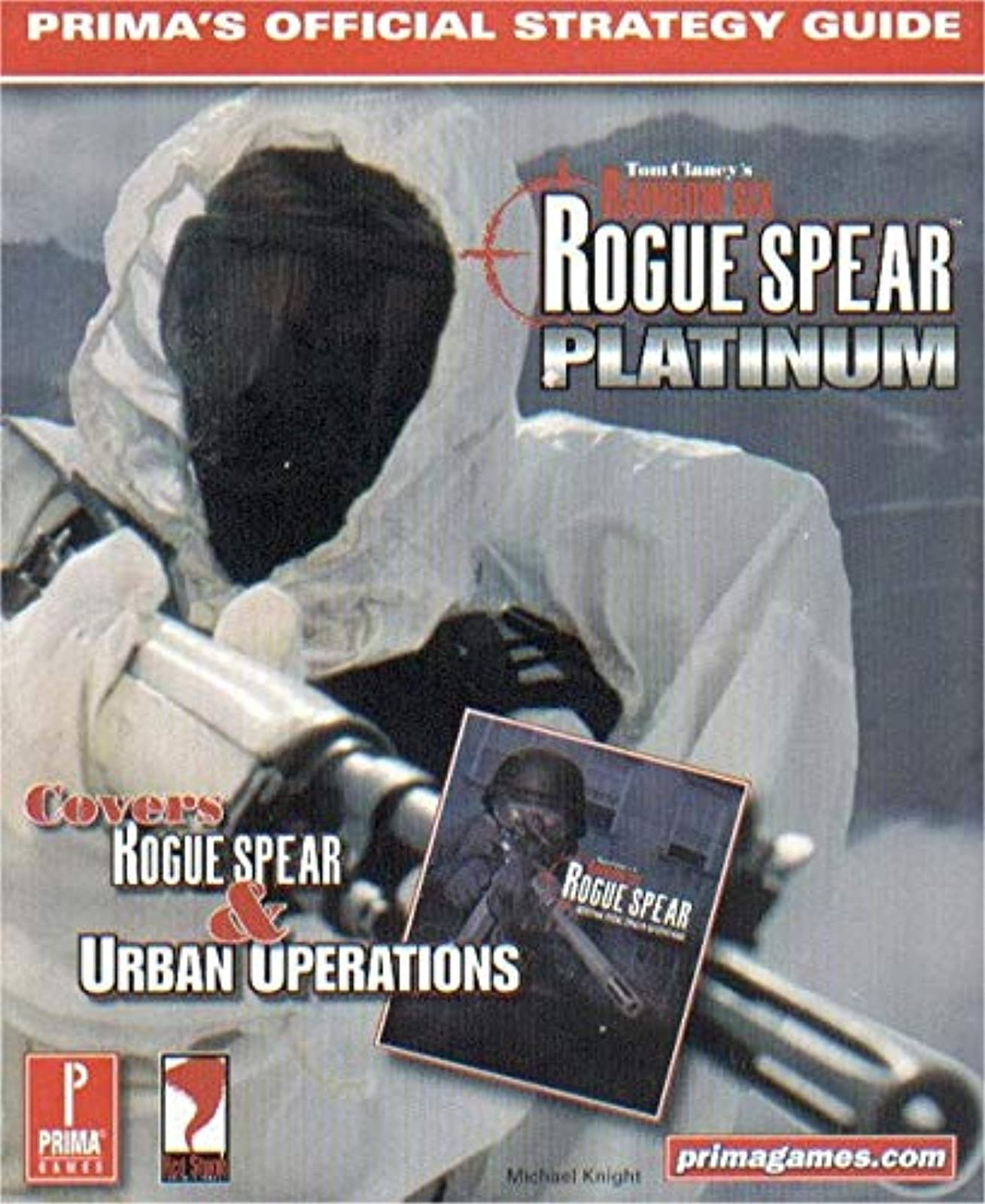 Tom Clancy's Rainbow Six Rogue Spear Platinum Official Strategy Guide Book 6