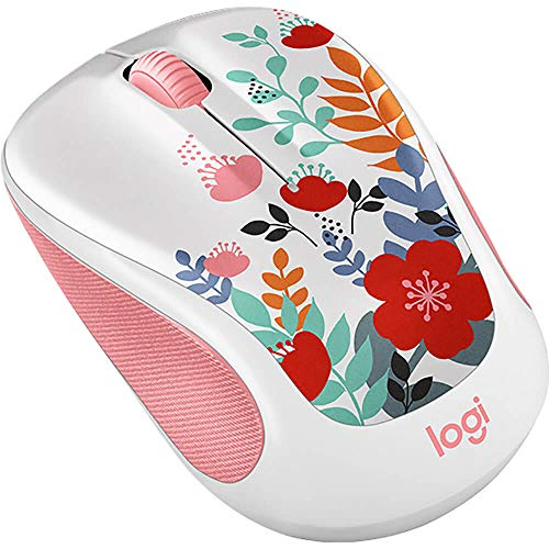 Image 0 of Logitech Mouse Optical Wireless Summer Bouquet M325C