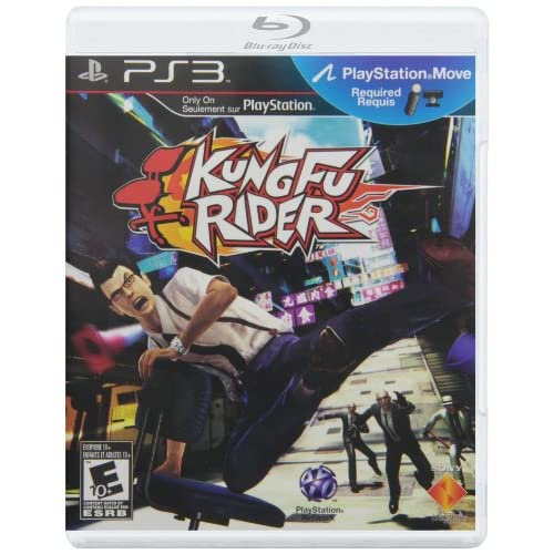 Kung Fu Rider Motion Control For PlayStation 3 PS3
