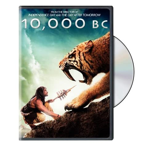 10 000 Bc On DVD With Camilla Belle