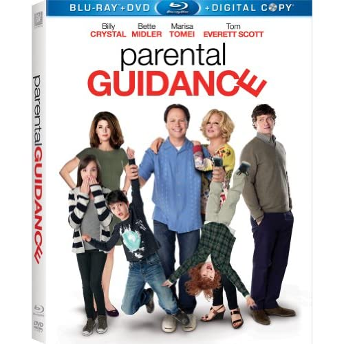 Parental Guidance On Blu-Ray With Billy Crystal Comedy