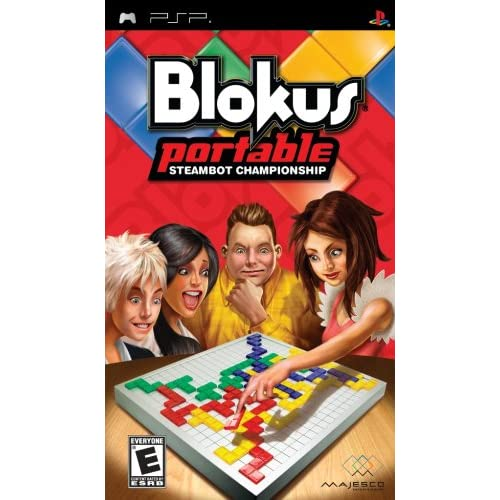 Blokus Portable: Steambot Championship Sony For PSP UMD Board Games
