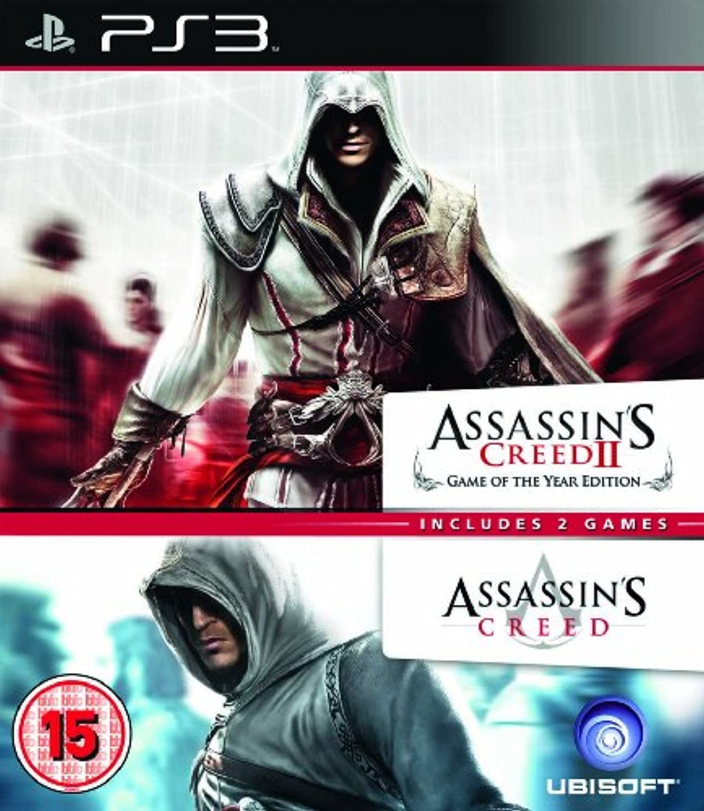 Assassin's Creed 1 And 2 Double Pack PS3 PlayStation 3