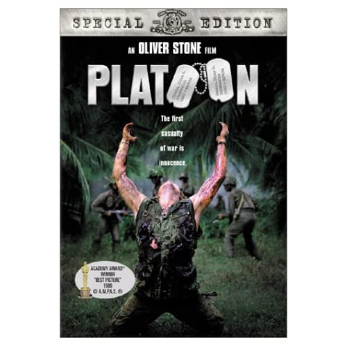 Platoon Special Edition On DVD With Charlie Sheen