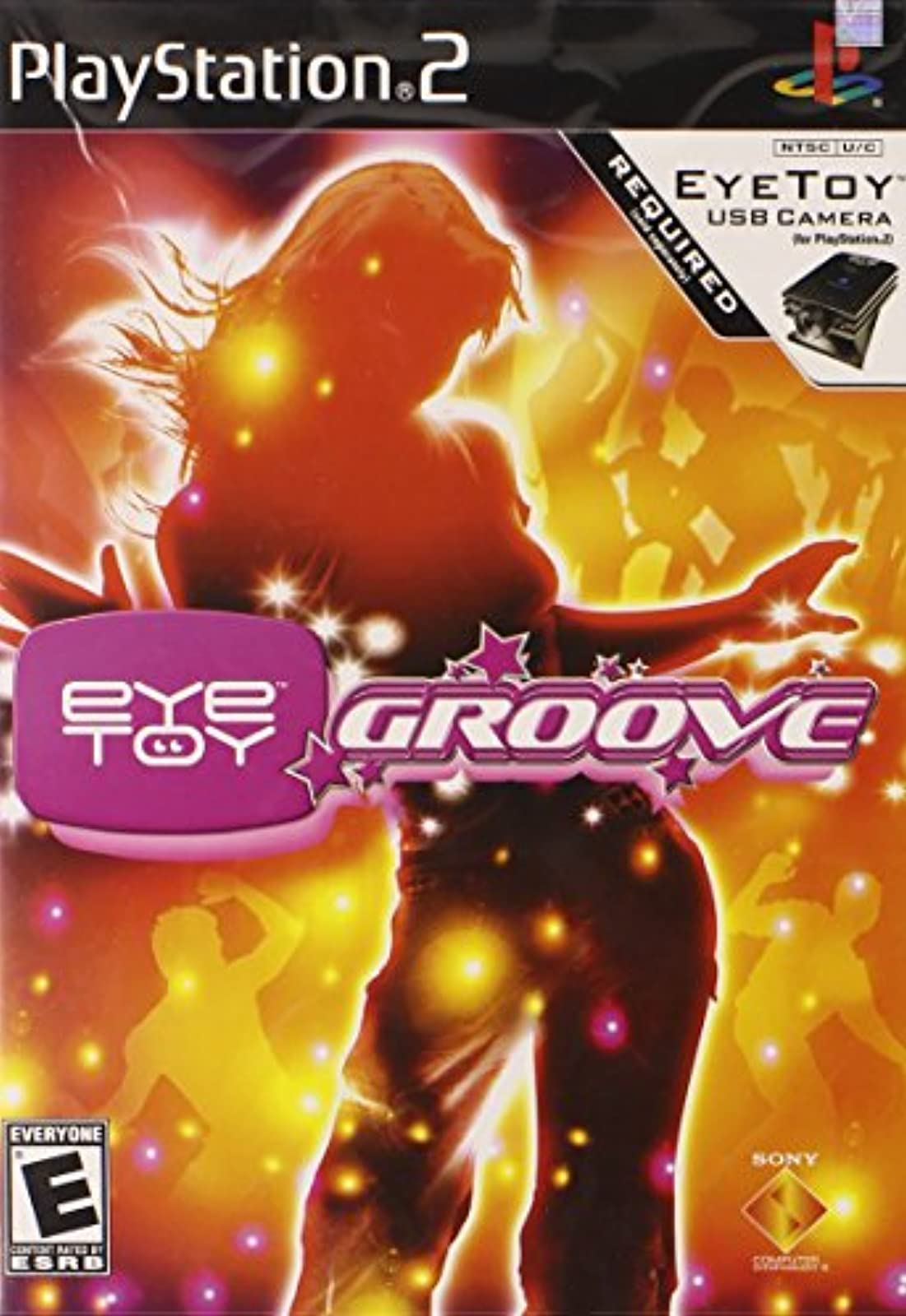 Eye Toy Groove No Camera For PlayStation 2 PS2 Arcade