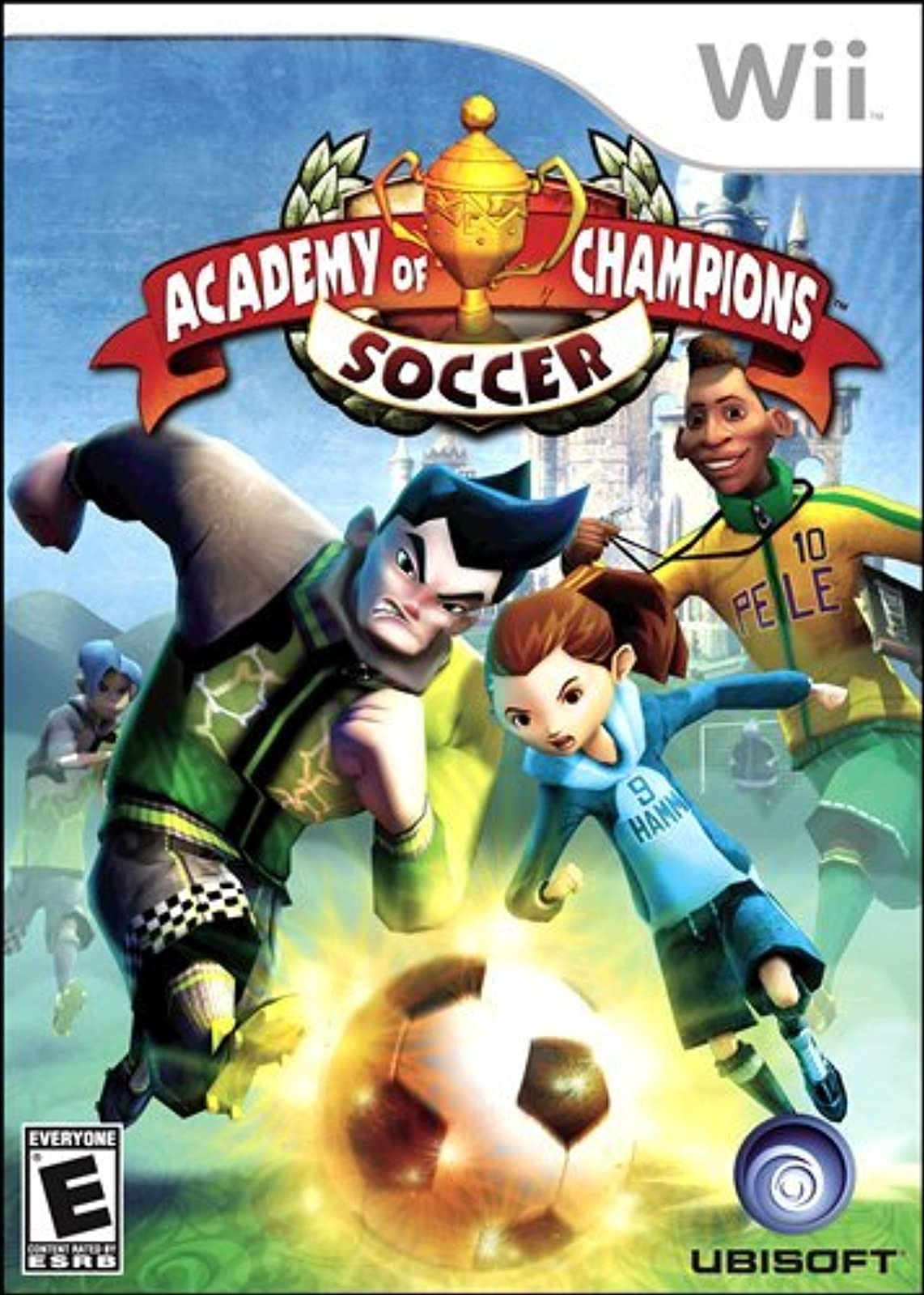 Academy Of Champions Soccer For Wii and Wii U