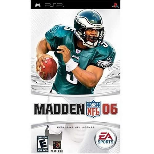Madden NFL 2006 Sony For PSP UMD Football