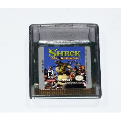 Shrek: Fairy Tale Freakdown On Gameboy Color