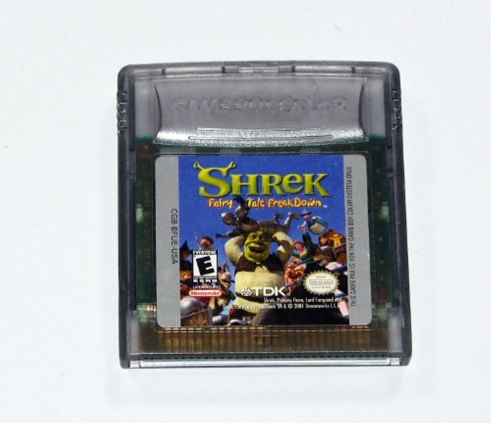 Shrek: Fairy Tale Freakdown On Gameboy Color