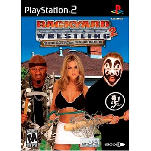 Backyard Wrestling 2: There Goes The Neighborhood For PlayStation 2 PS2 Fighting